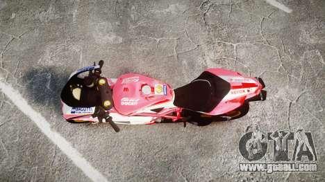 Ducati 1198 R for GTA 4 right view