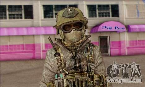 Task Force 141 (CoD: MW 2) Skin 7 for GTA San Andreas third screenshot