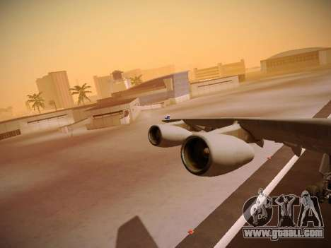 Airbus A340-300 Finnair for GTA San Andreas wheels