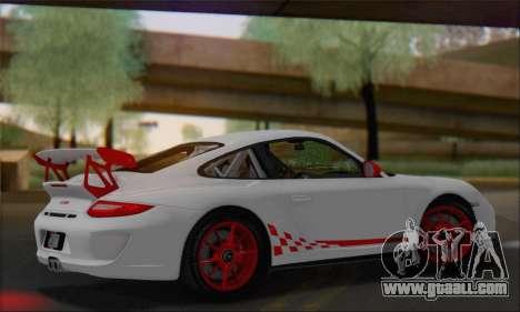 Porsche 911 GT3 2010 for GTA San Andreas inner view