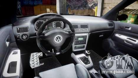 Volkswagen Golf Mk4 R32 Wheel2 for GTA 4 back view