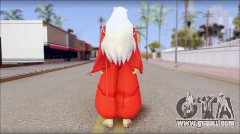 InuYasha for GTA San Andreas second screenshot