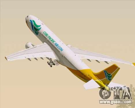 Airbus A330-300 Cebu Pacific Air for GTA San Andreas