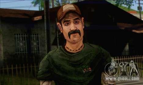 Kenny from The Walking Dead v1 for GTA San Andreas third screenshot
