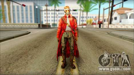 Guardians of the Galaxy Star Lord v2 for GTA San Andreas