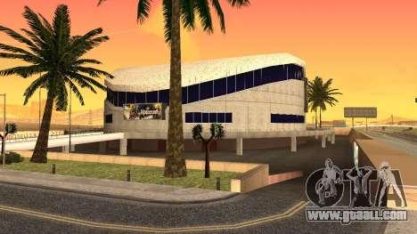 HD textures stadium in Las Venturas for GTA San Andreas