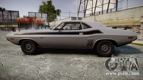 Dodge Challenger 1971 v2.2 PJ3 for GTA 4 left view