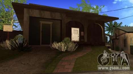 New HD textures houses on grove street v2 for GTA San Andreas seventh screenshot