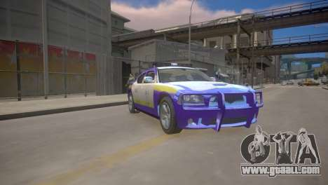 Dodge Charger Kuwait Police 2006 for GTA 4