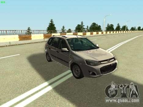 Lada Kalina 2 Wagon for GTA San Andreas right view