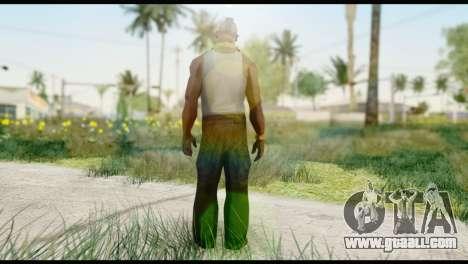 MR T Skin v2 for GTA San Andreas second screenshot