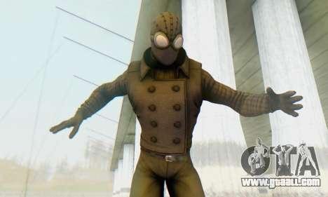 Skin The Amazing Spider Man 2 - DLC Noir for GTA San Andreas