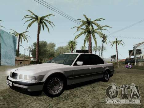 BMW 760i E38 for GTA San Andreas upper view