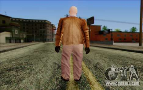 Russian Cats II Skin 6 for GTA San Andreas second screenshot