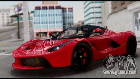 Ferrari LaFerrari 2014 (IVF) for GTA San Andreas