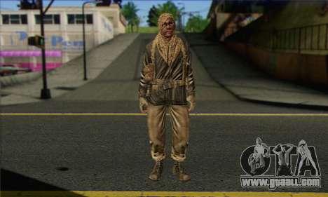 Task Force 141 (CoD: MW 2) Skin 18 for GTA San Andreas