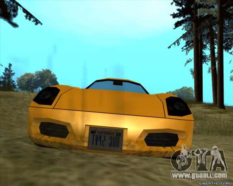 Stinger for GTA San Andreas left view