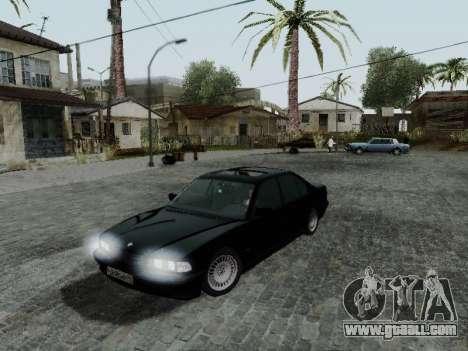BMW 760i E38 for GTA San Andreas