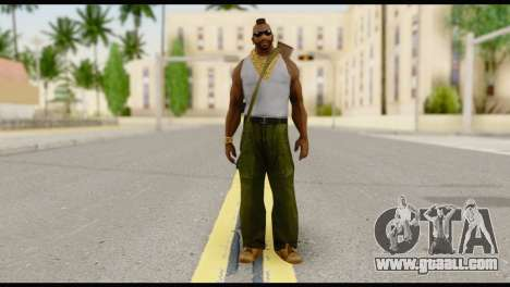 MR T Skin v8 for GTA San Andreas