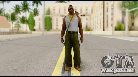 MR T Skin v8 for GTA San Andreas