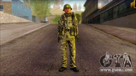 A North Korean soldier (Rogue Warrior) for GTA San Andreas