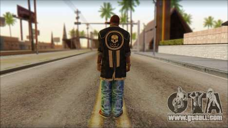 New Grove Street Family Skin v1 for GTA San Andreas second screenshot