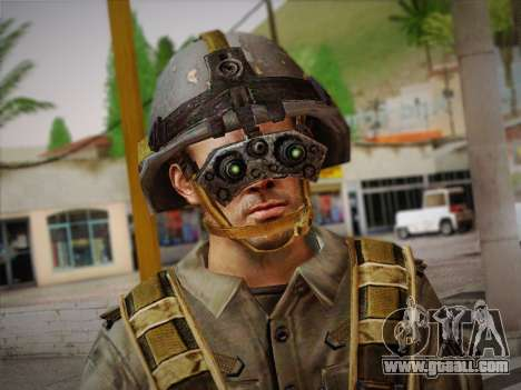 Боец СВР (Tom Clancy Splinter Cell) v2 for GTA San Andreas third screenshot