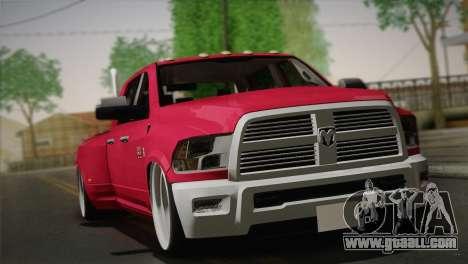 Dodge Ram 3500 for GTA San Andreas