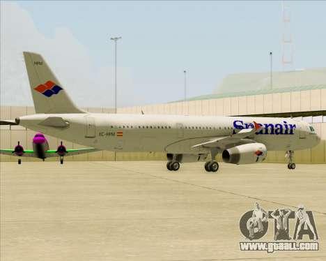 Airbus A321-231 Spanair for GTA San Andreas engine