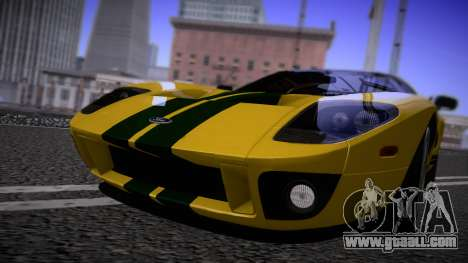 Ford GT 2005 Road version for GTA San Andreas left view