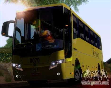 Busscar Elegance 360 Viacao Nordeste 8070 for GTA San Andreas back view