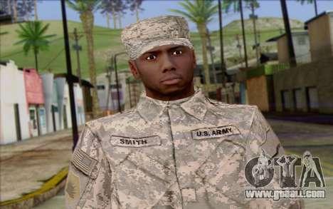 California National Guard Skin 5 for GTA San Andreas third screenshot
