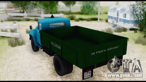 ZIL 130 Training for GTA San Andreas right view