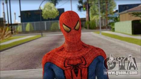 Standart Spider Man for GTA San Andreas third screenshot