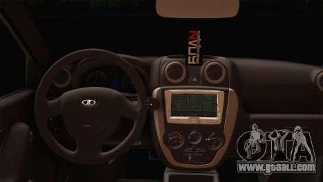 Lada Granta Liftback for GTA San Andreas back left view