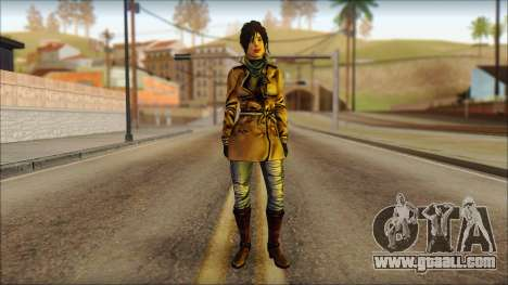 Tomb Raider Skin 2 2013 for GTA San Andreas