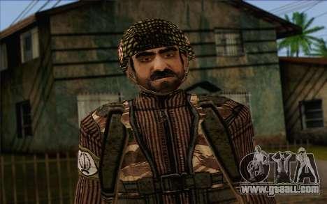 Soldiers MEK (Battlefield 2) Skin 4 for GTA San Andreas third screenshot