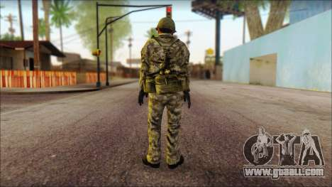 A North Korean soldier (Rogue Warrior) for GTA San Andreas second screenshot
