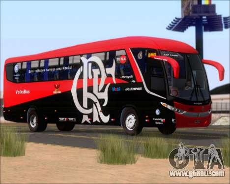 Marcopolo Paradiso 1200 G7 4X2 C.R.F Flamengo for GTA San Andreas bottom view