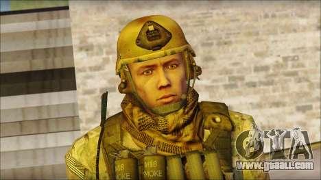 USA Soldier v1 for GTA San Andreas third screenshot