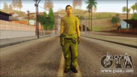 GTA 5 Soldier v1 for GTA San Andreas
