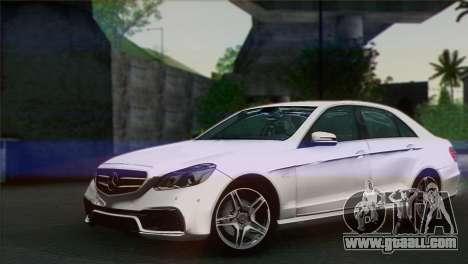 Mercedes-Benz E63 AMG for GTA San Andreas