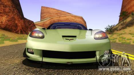 Chevrolet Corvette Z06 2006 Drift Version for GTA San Andreas right view