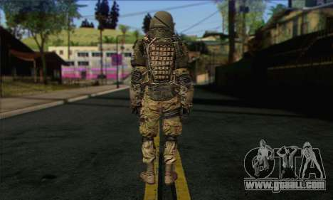 Task Force 141 (CoD: MW 2) Skin 9 for GTA San Andreas second screenshot