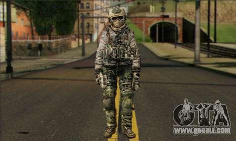 Task Force 141 (CoD: MW 2) Skin 1 for GTA San Andreas