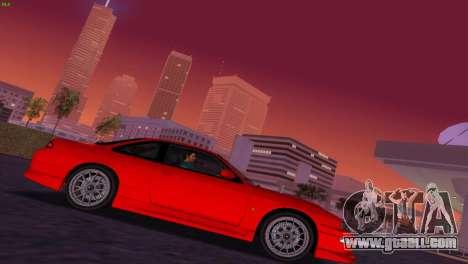 Nissan Silvia S14 RB26DETT Black Revel for GTA Vice City back view