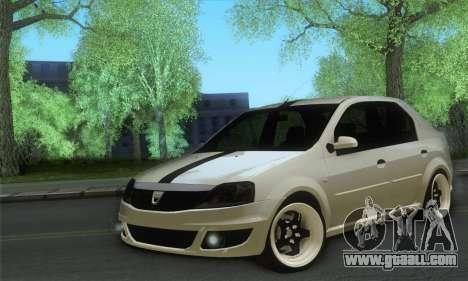Dacia Logan 1.6 Street for GTA San Andreas