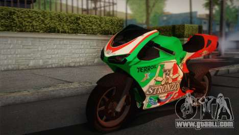 Bati RR 801 Stronzo for GTA San Andreas