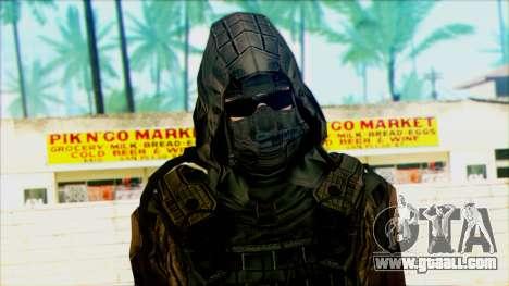 A soldier from team 4 Phantom for GTA San Andreas third screenshot