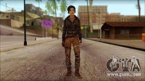 Tomb Raider Skin 6 2013 for GTA San Andreas